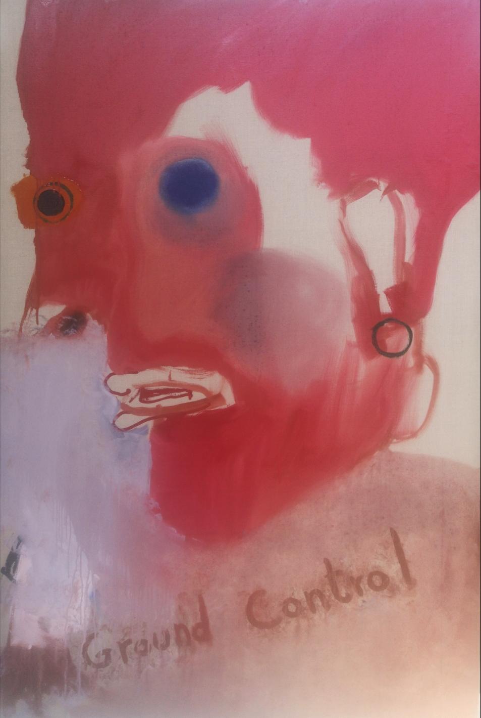 'Ground Control' - Oil on linen canvas - 150x100cm - 2021