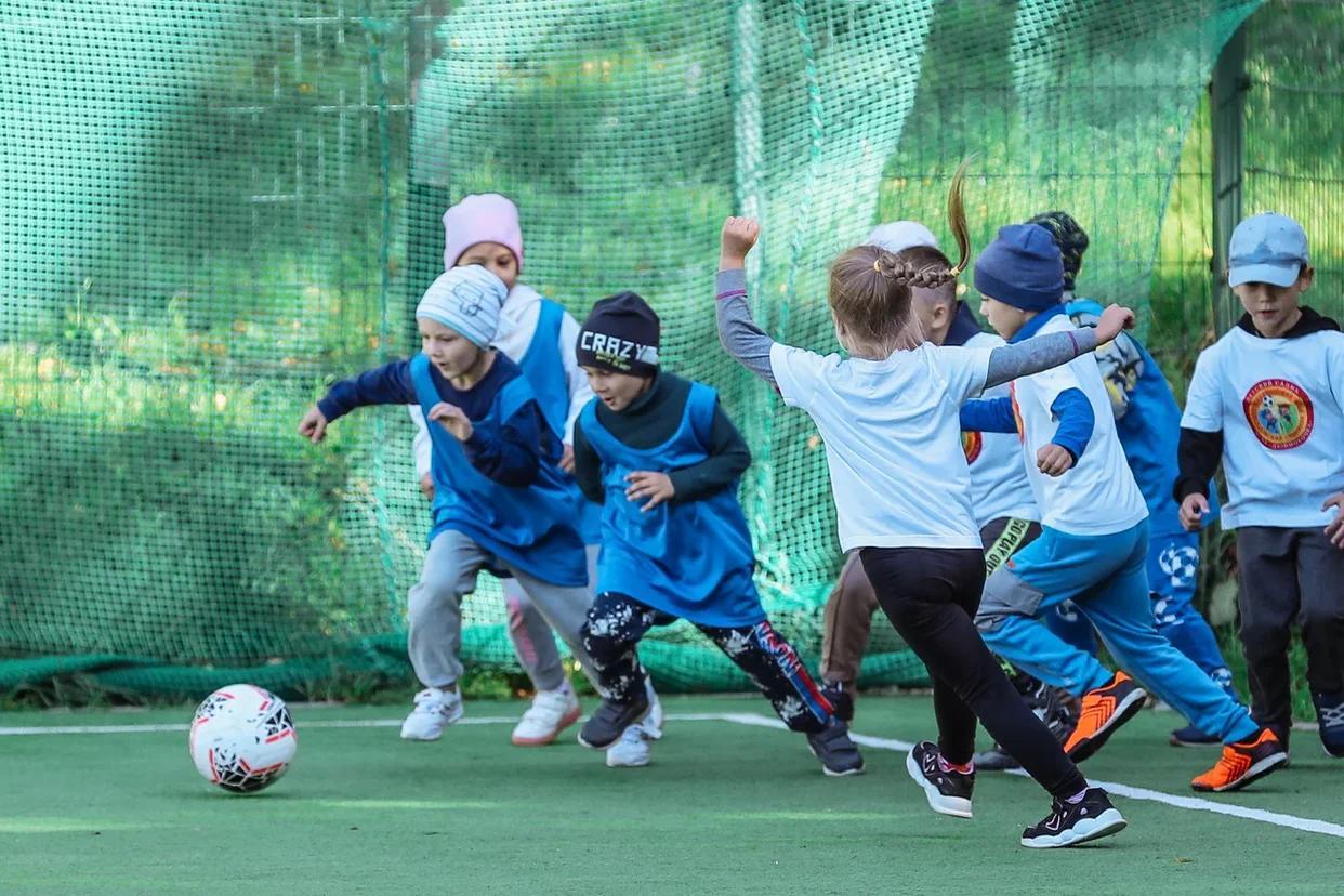 Юбилейный сезон футбольной детсадовской лиги стартовал на Сахалине