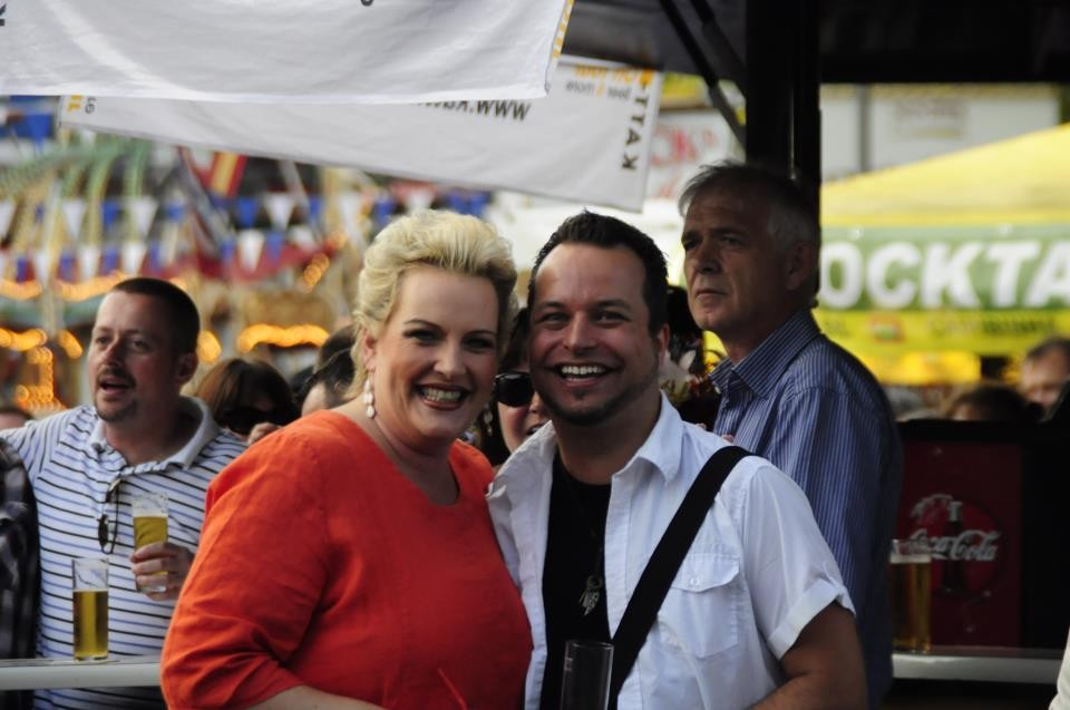12.08.12 Altstadtfest Heumarkt Köln mit meiner lieben Kollegin Wanda Kay