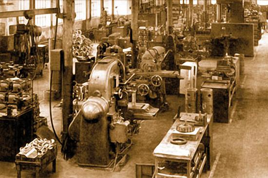 Escher Wyss Lindau 1921 - 1972