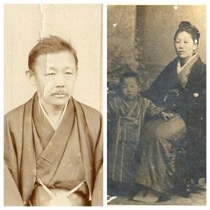 父・田垣内粂吉    母・田垣内けい