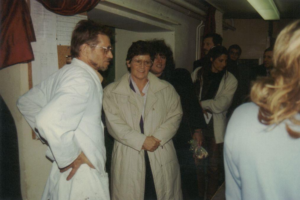 80´er: GJB-Besuch Familienministerin Süßmuth