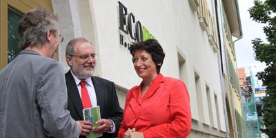 2000´er: ECOINN Hotel am Campus Esslingen - Eröffnung mit Staatssekretärin Roth
