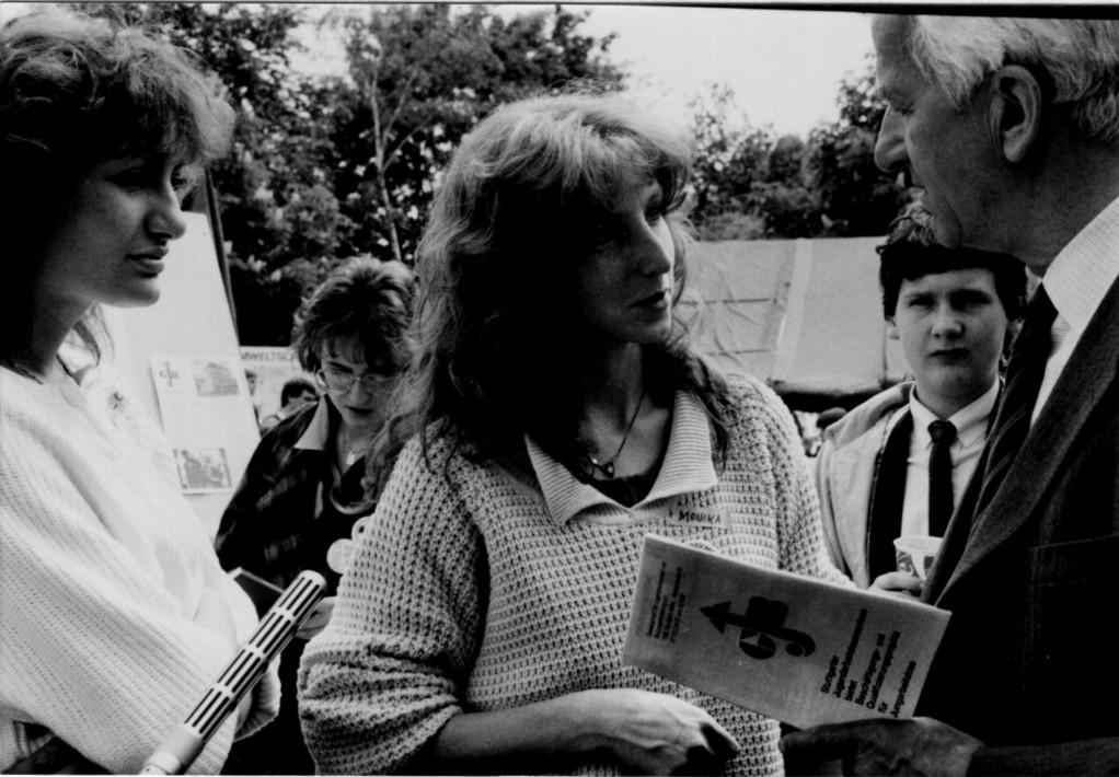 80`er: Delegation bei Bundespräsidident von Weizsäcker