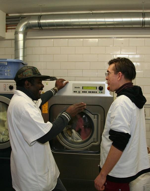 2000´er: Integrationsbetrieb Waschwerk