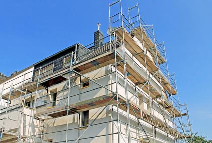Fassadensanierung Firma in Erfurt - Kultbau GmbH - Ihr Bausanierer mit langjähriger Erfahrung