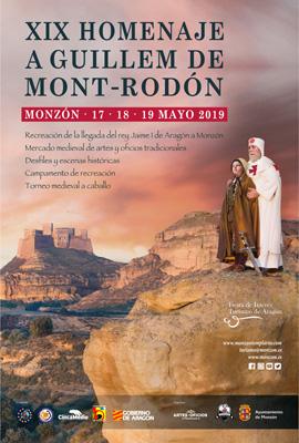 Homenaje a Guillem de Mont-rodón 2019