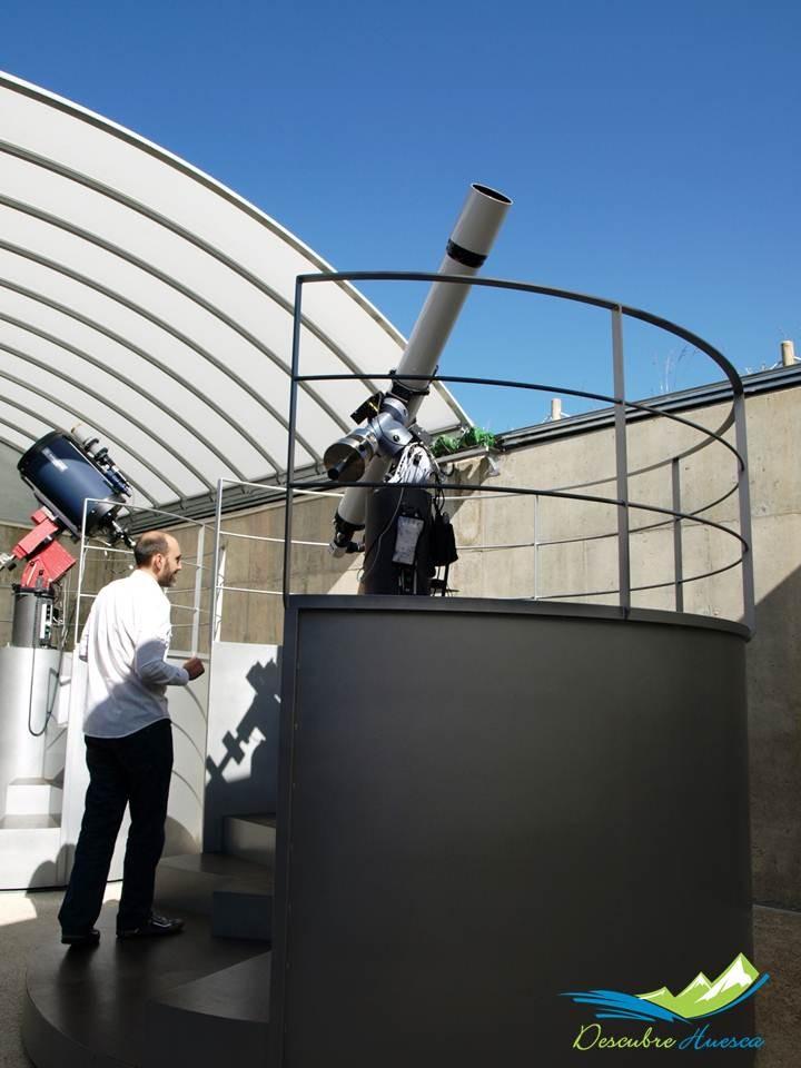 Telescopios Centro Astronómico Aragonés