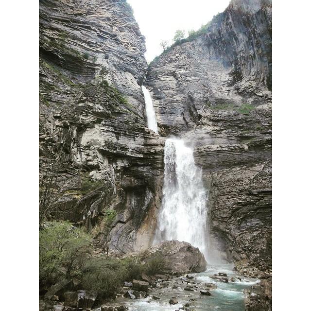 Cascada de Sorrosal en Broto