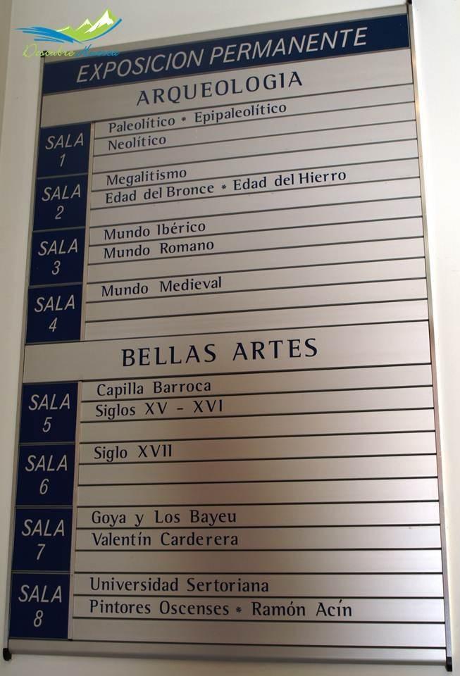 Exposiciones permanentes Museo Arqueológico de Huesca