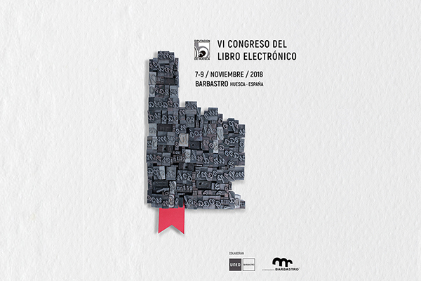 Cartel Congreso libro electronico Barbastro 2018