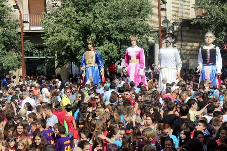 Fiestas de San Mateo en Monzón.