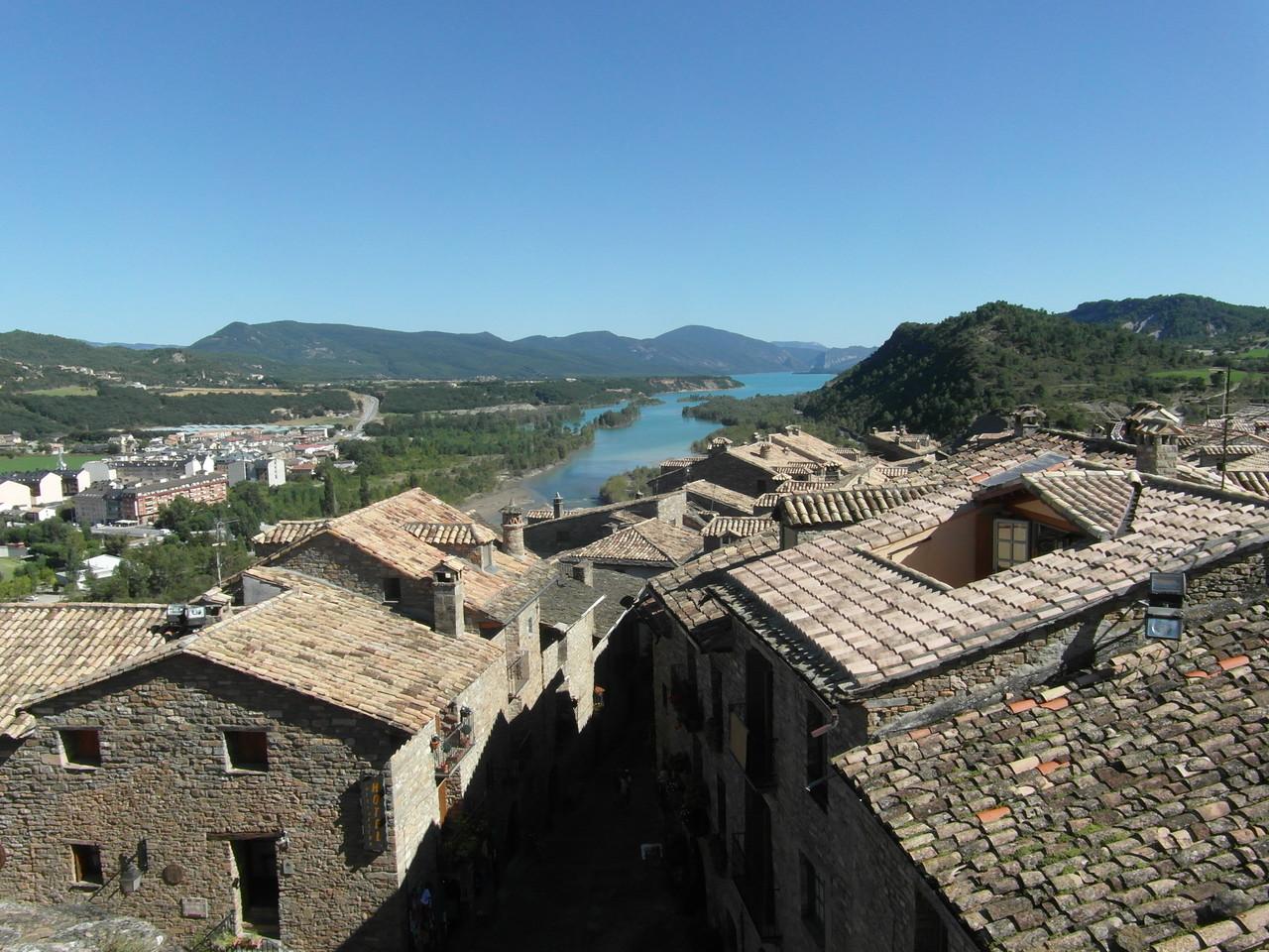 Vistas desde la torre de la Iglesia.