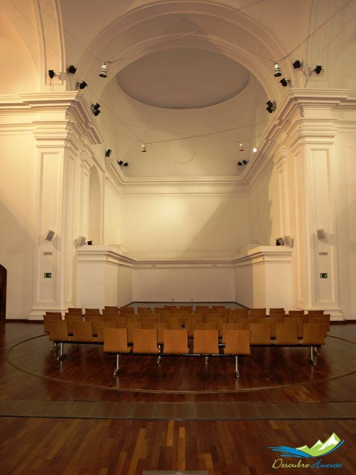 Antigua Iglesia, actual sala de proyecciones
