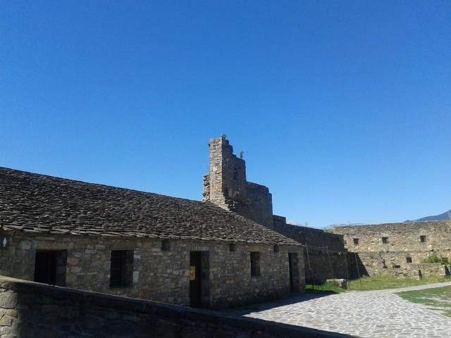 Detalle Castillo de Aínsa.