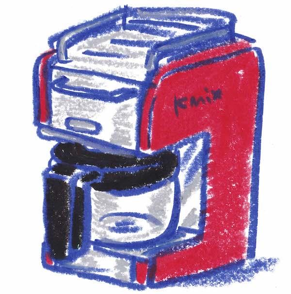 Re-Post:美味しい秘密が沢山。デロンギのKmix。#39