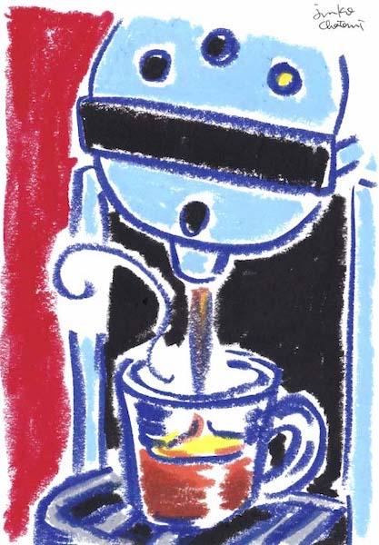 カプセル型コーヒーマシン 茶谷順子 ドリップ コーヒーポット