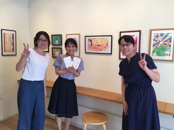 茶谷順子個展「お家に飾ろう」の光景