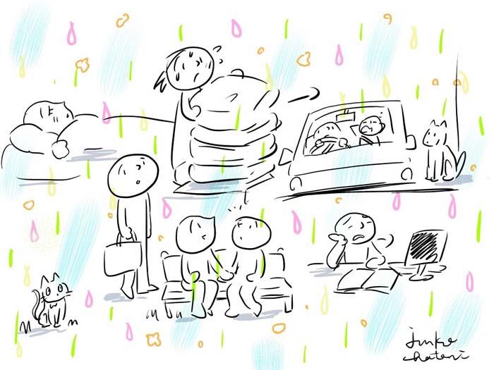 幸せの雨 茶谷順子