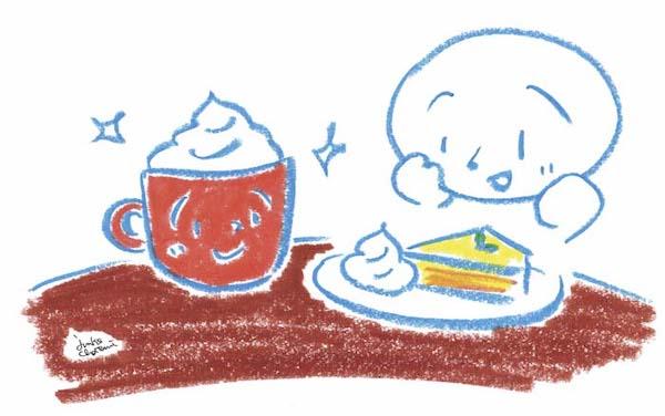 イラストレーター 茶谷順子 コーヒーイラスト