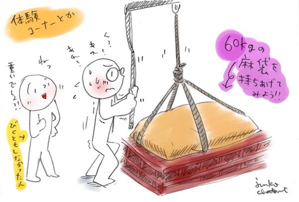 本当に重いの!腰痛のある方はやんないほうがいい。