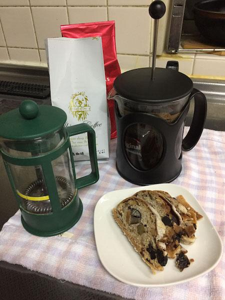 コーヒープレスの使い方