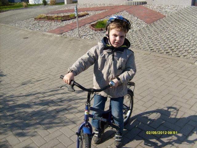 leo seine erste Rad Wanderung nach Timmendorf/Strand