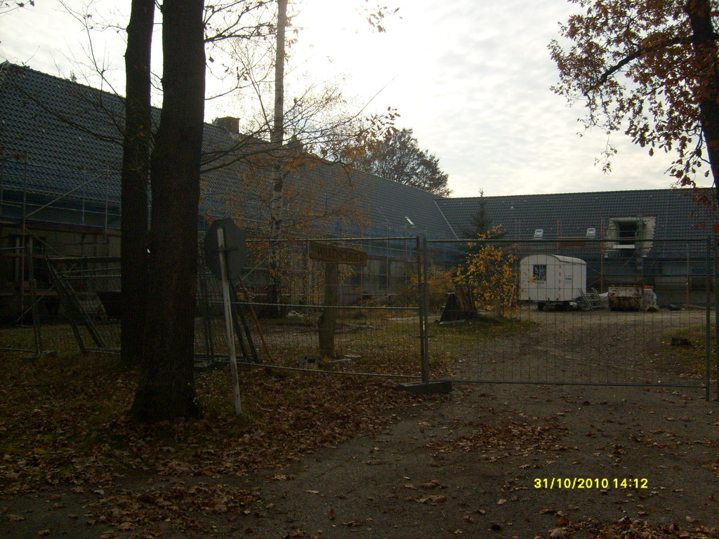 Gestehaus wird umgebaut zur Waldschule
