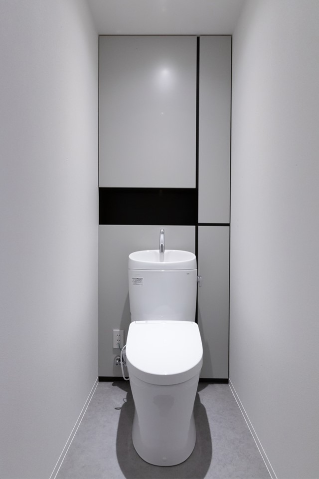 トイレ 収納 造作家具 一級建築士事務所STAP 秋保 CLASSOCO FURNITURE