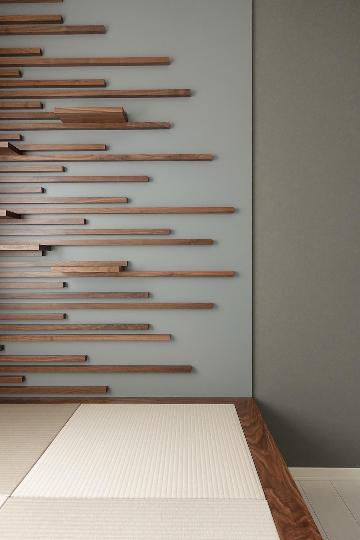 納品事例|飾り棚と小上がり収納