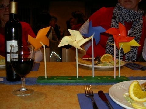 Unsere Tischdekoration