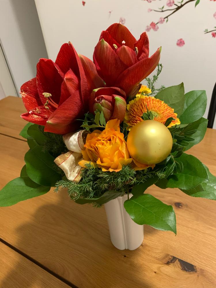 Vielen Dank für den Blumenstrauß! お花をありがとうございました!
