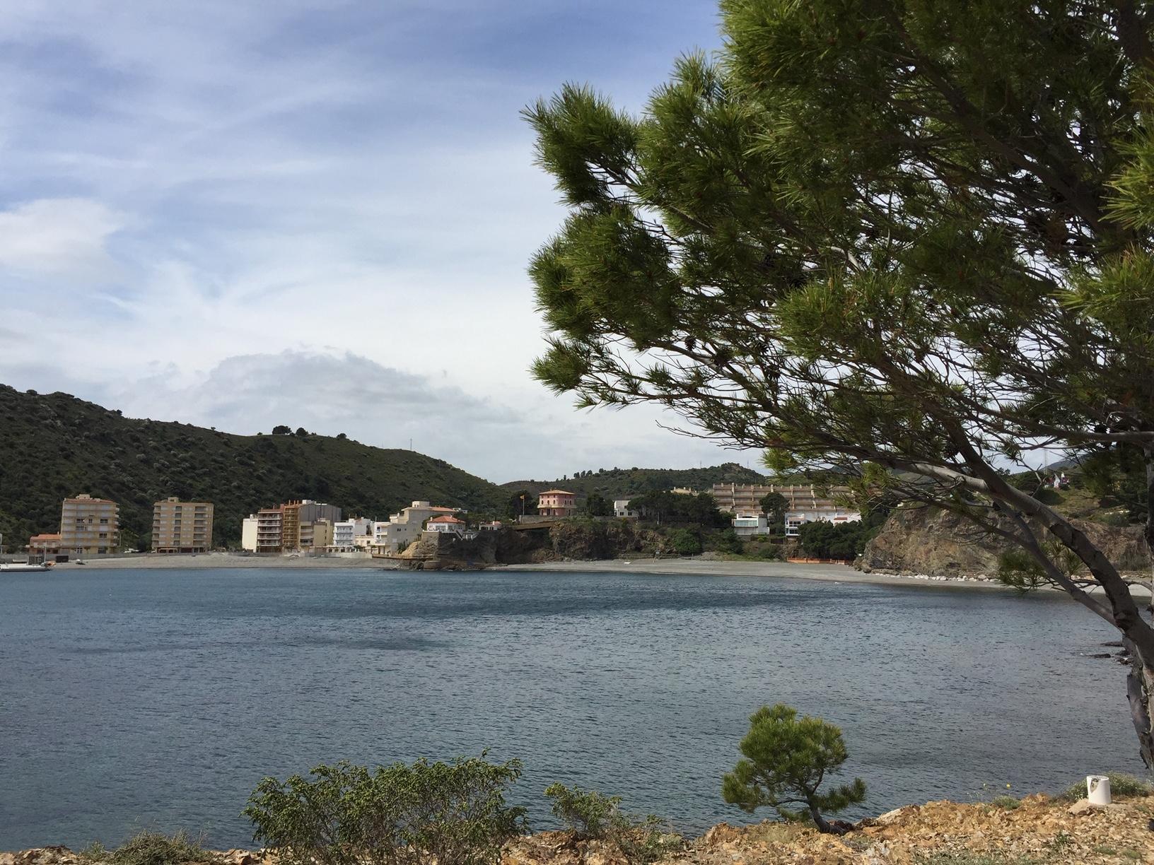 Colera liegt kurz hinter der französischen Grenze, direkt am Mittelmeer.