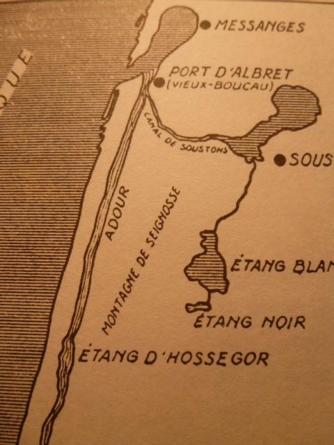 L'Adour et son havre d'Albret avant le détournement du 28 octobre 1578