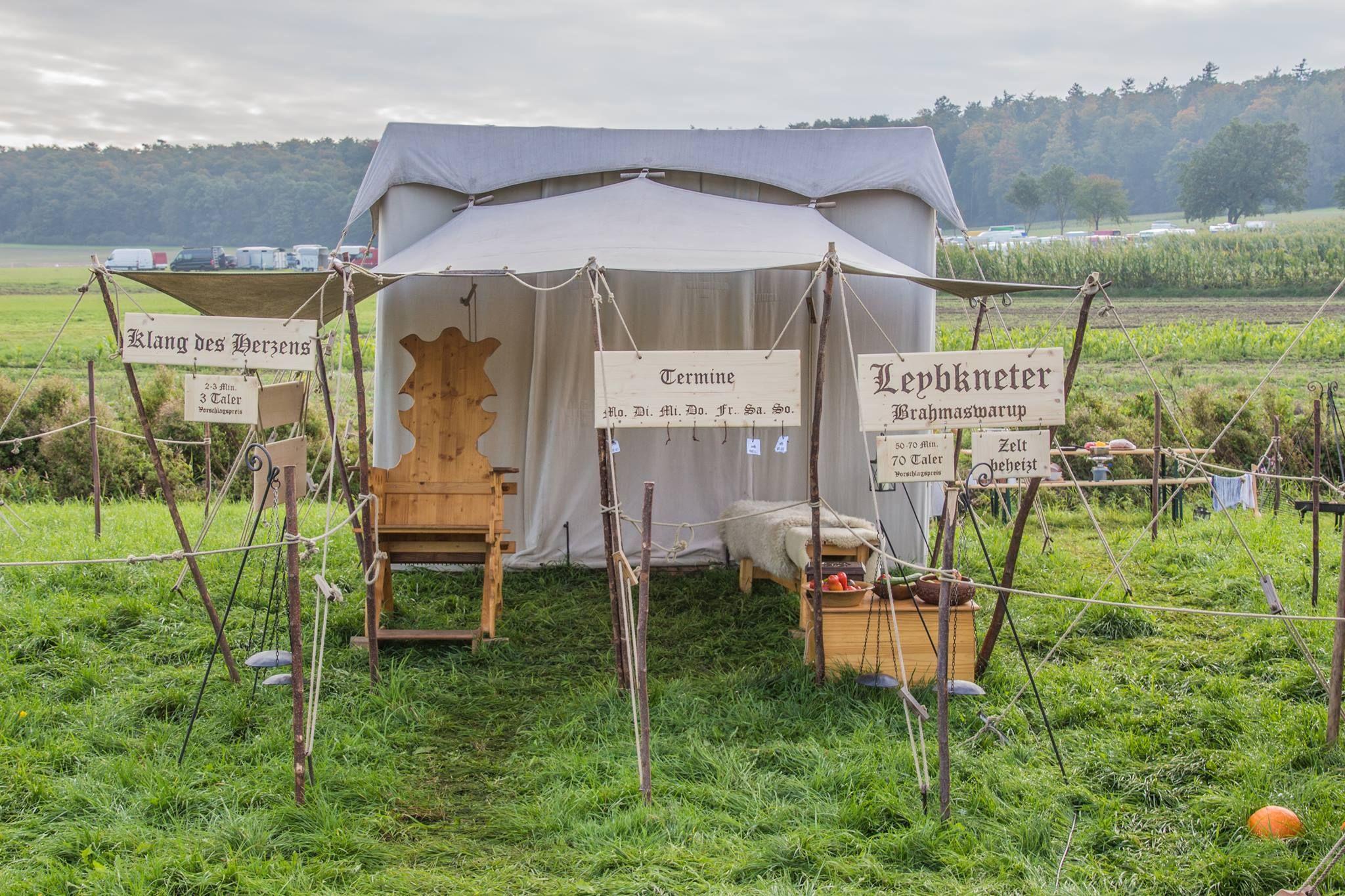 Das selbstgemachte Zelt im neuen Look