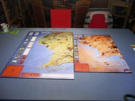 Vergleich rechte Spielbretthälfte Orginal von 2004 und CE 2010