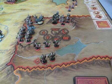 Saurons Armeen stehen bereit.