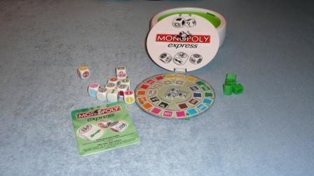Monopoly Express, wunderbar für den Urlaub (auch Strandgeeignet ;-) )