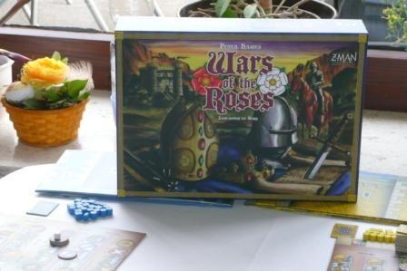 Wars of the Roses von Z-Man Games - ein Klasse Spiel