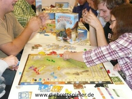 German Railways von Queen Games.
