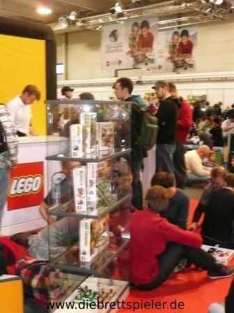 Der Stand von Lego.