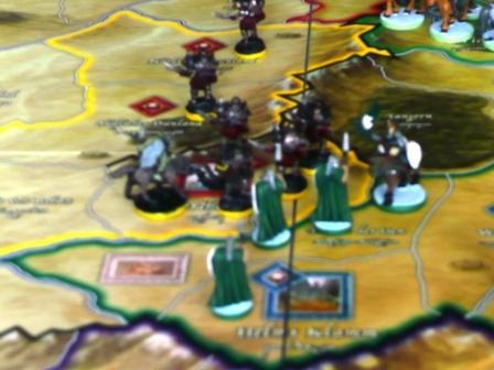 Rohan und Isengard Armeen