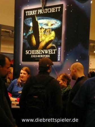 Der Stand von Kosmos zum Spiel Scheibenwelt.