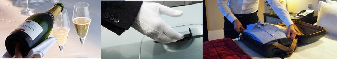 Butler Dienstleistungen-  Servieren, Fahrer und Pflege von Ihrer Kleidung und Schuhen