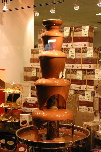 fontaine de chocolat ( Belge )