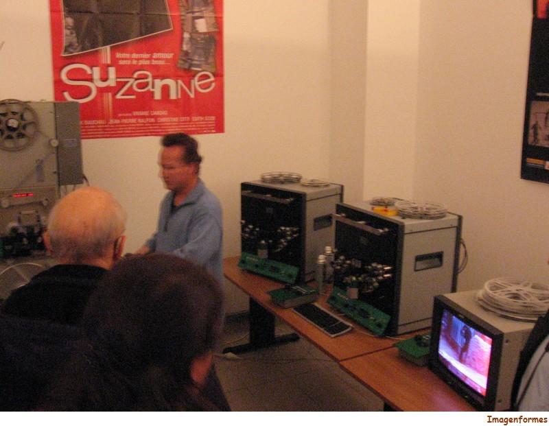 0108 machines à numériser les films