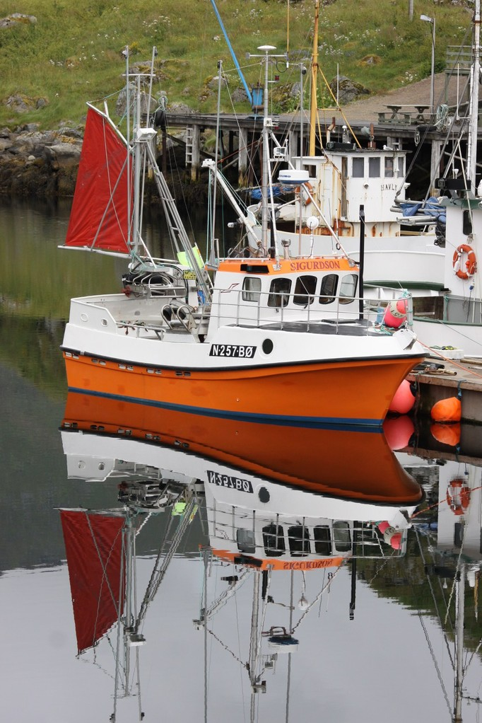 port de Nikväg en Norvège