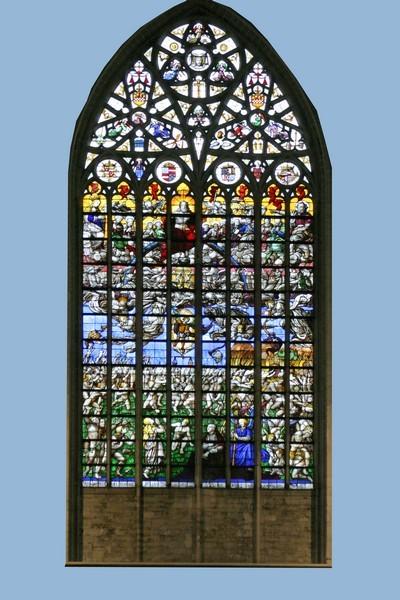 vitraux cathédrale St Michel