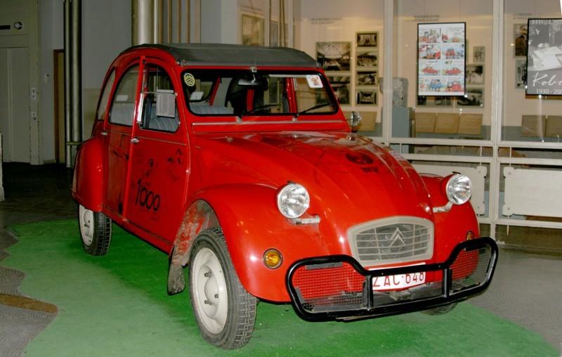 la 2CV de Tintin