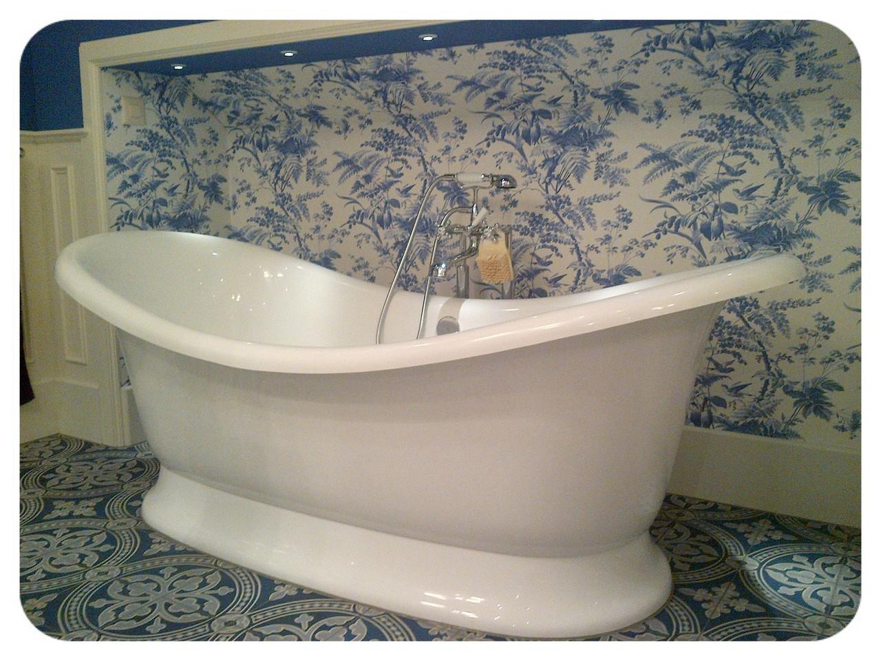 Freisthende Badewanne